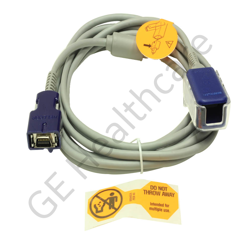 Nellcor SpO2-Adapter Cable DOC-10 DINAMAP/Pro 1000v2/Pro/ProCare