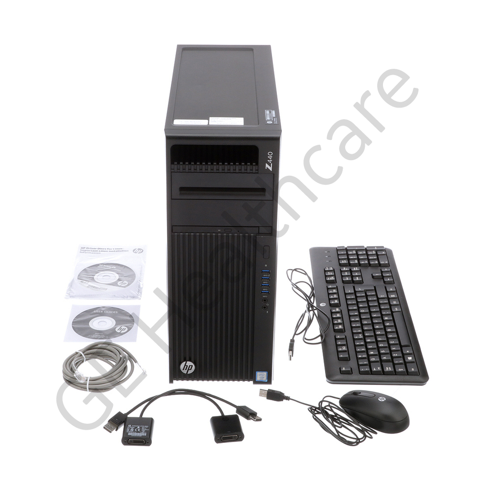 HP Z440 with Intel Xeon Processor E5-1620V3, 32GB AMD SSD